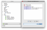 PyTalk on Mac OS X
